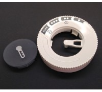 00630553+00629773 Bosch (Бош) ручка регулятора температуры с заглушкой для утюга TDA7028210