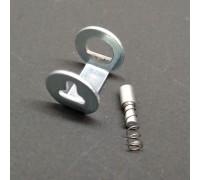 00619909+00619906 Bosch (Бош) пружинка под регулятор утюга и соединение термостата TDS372810T, TDS3561GB, TDS2555 и многих других.