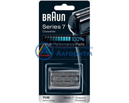 81444473 (81262192) Braun (Браун) сетка с режущим блоком 70B, Series 7 (Pulsonic, Prosonic)