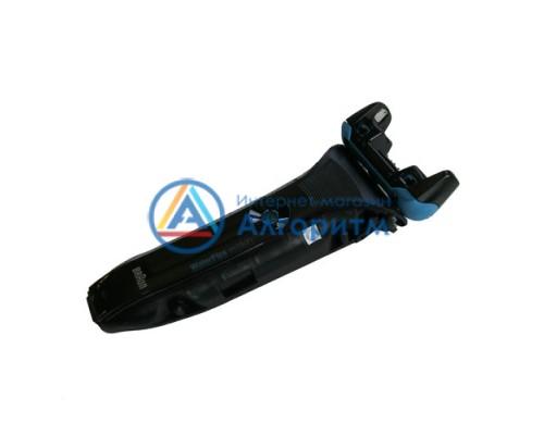81489173 Braun (Браун) передняя часть корпуса с головкой (черно-голубой) для бритвы WaterFlex