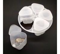 Redmond (Редмонд) баночки мультиварки для йогурта 5 штук с подставкой