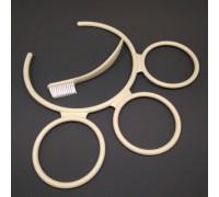 SS-989681+SS-989678 Tefal (Тефаль) держатель стаканов и щеточка для чистки фильтр-сита соковыжималок ZE700113/BV0, ZE700113/5D0, ZE700188/5D0, ZE700188/BV0, ZE700131/BV0, ZE700131/5D0