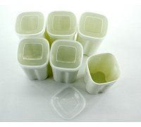 Polaris (Поларис) баночки для йогурта 6 шт.