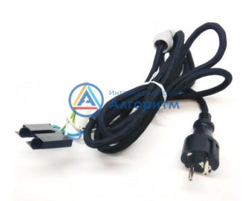 00753469 Bosch (Бош) шнур питания 2.6 метра черный для TDI902431E Sensixx'x DI90 MotorSteam ProEnergy, TDA702421E