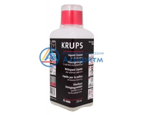XS400010 Krups (Крупс) чистящая жидкость от накипи для кофеварок и кофемашин