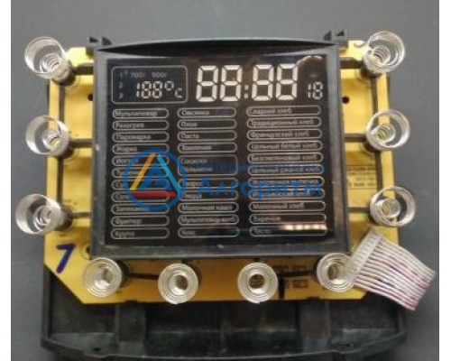 Polaris (Поларис) PBMM1601d плата управления мультиварки-хлебопечки